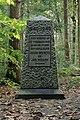 Oorlogsmonument in bossen van Elfbergen.JPG