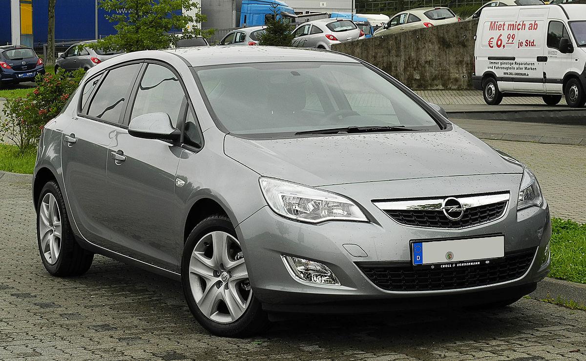Opel Astra J – Wikipedia