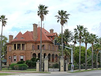 Free State of Galveston - Open Gates Mansion, built by George Sealy, 1891