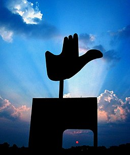 Open Hand Monument in Chandigarh.jpg