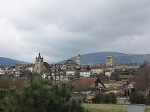 Orbe - Orbe town