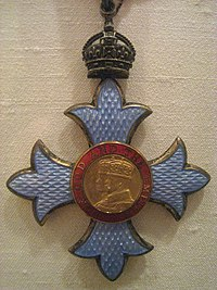 Order of the British Empire in the Grade of Commander (CBE) - IMG 4974.JPG