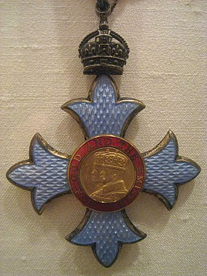 Commander of the Order of the British Empire cover