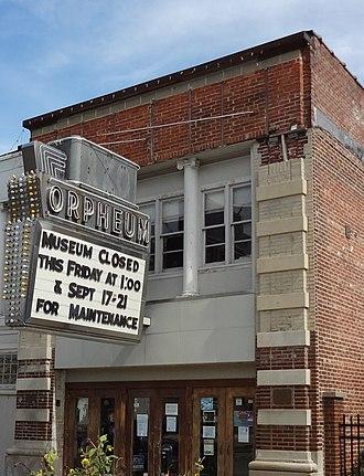 Orpheum Theatre (Champaign, Illinois) - Image: Orpheum 3