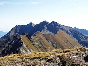 Monte Orsiera - The mountain seen from Monte Pelvo  (2,773 m)