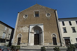 church in Orvieto, Umbria, Italy