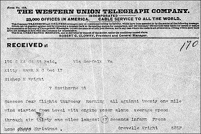 Orville Wright telegram.jpg