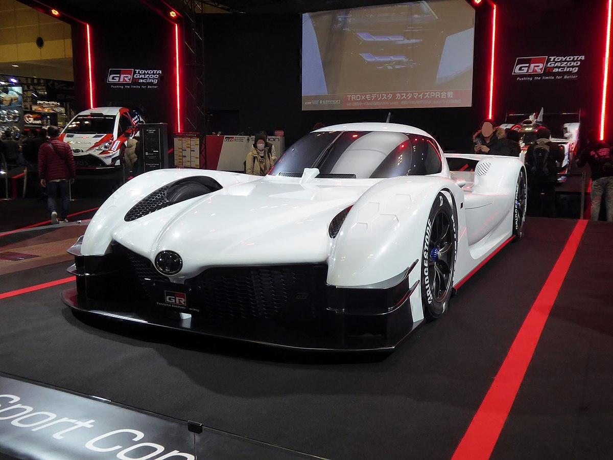 K And R Auto >> Toyota GR Super Sport Concept – Wikipedia