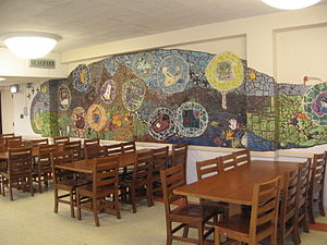 Sonia Shankman Orthogenic School - The dining room of the Orthogenic School