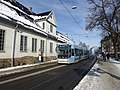 Oslo tram line 18 at St Halvards plass 02.jpg