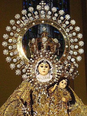 Santo (art) - Image: Our Lady of La Naval de Manila