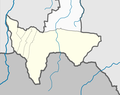 Outline map of Dzheyrakhsky District, on the map of Ingushetia.png