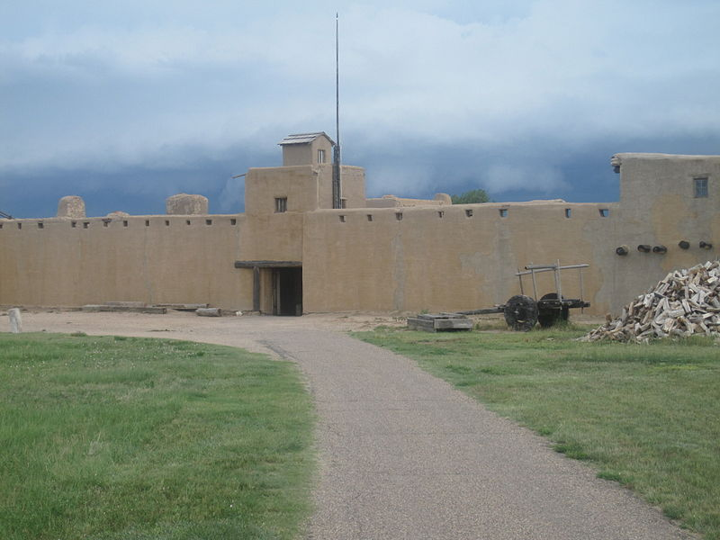 File:Outside view, Bent's Old Fort, CO IMG 5704.JPG