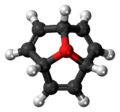 Oxatriquinacene cation 3D ball.png