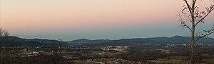 Oxford, Alabama - Oxford at dusk