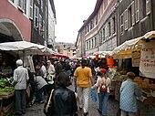 Restaurants Annecy Rue Vaugelas
