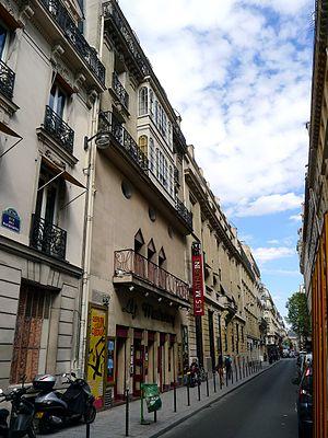 Théâtre des Mathurins - Le théâtre des Mathurins, rue des Mathurins (Paris 8)