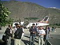 PIA flight at Chitral Airport.jpg