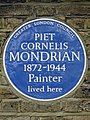 PIET CORNELIS MONDRIAN 1872-1944 Painter lived here.jpg