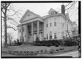 PORTICO ELEVATION - Glen Raven, Washington Road, Cedar Hill, Robertson County, TN HABS TENN,74-CEDHI.V,2-3.tif
