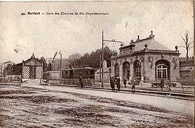 PPB 44 - BELFORT - Gare des Chemins de fer départmentaux.JPG