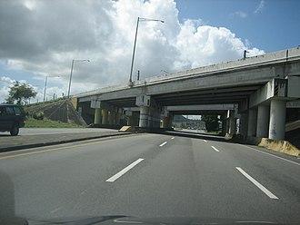 Puerto Rico Highway 3 - PR-3 in Humacao close to PR-53 (bridge)