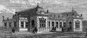 Paddington tube station (Circle and Hammersmith & City lines) - Exterior, 1862