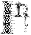 Page 164 initial in More Celtic Fairy Tales.png
