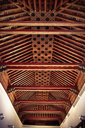 Palacio de Fuensalida - Coffered ceilling