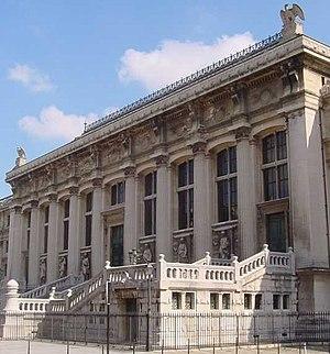 Français : Le Palais de justice de Paris, Ile ...