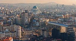 Panorama Belgrad