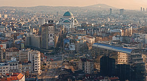 Downtown Belgrade
