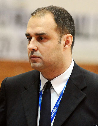 Paolo Moretti - Moretti as head coach of Pistoia Basket.