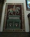Paolo Uccello, John Hawkwood, Santa Maria del Fiore de Florència.JPG