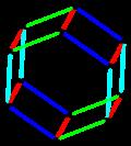 Parallelohedron edges hexagonal prism.png