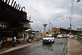 Parama-Park Circus Flyover Under Construction - Parama Island - Kolkata 2012-07-31 0555.JPG