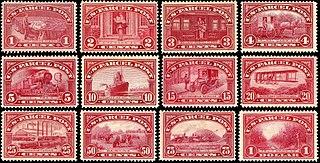 U.S. Parcel Post stamps of 1912–13
