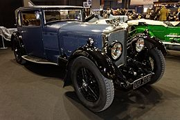 Paris - Retromobile 2012 - Bentley Speed six - 1929 - 003.jpg