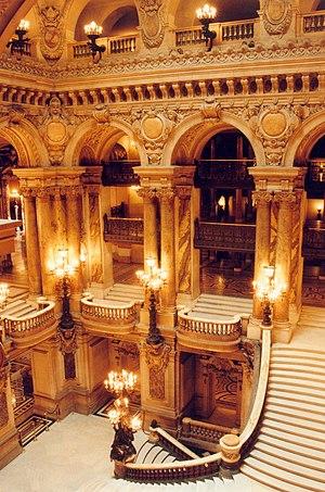 Paris Opéra Garnier Grand escalier
