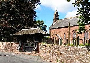 St Mary's Church, Gosforth - Image: Parish Church, Gosforth geograph.org.uk 48017