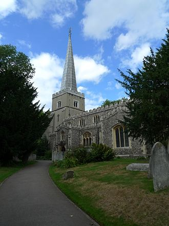 Grade I and II* listed buildings in the London Borough of Harrow - Image: Parish Church of St Mary, Harrow on the Hill