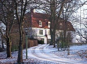 Villa parkudde, facade mod vest, januar 2009.