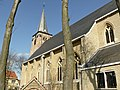 Parochiekerk Sint Vincentius, Ramskapellestraat, Ramskapelle (Knokke-Heist).jpg