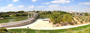 Juan Carlos I Park - Image: Parque Juan Carlos I panorama 2