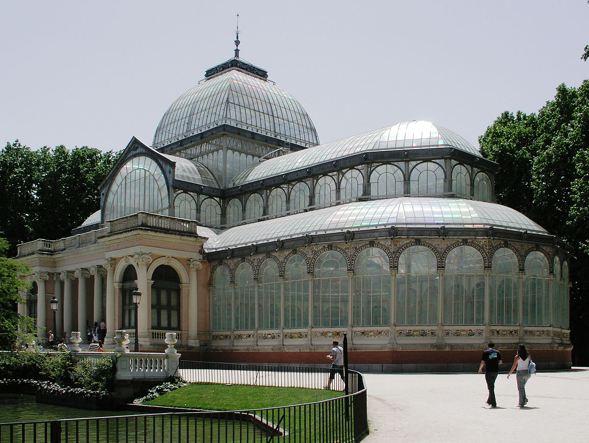 palacio de cristal del retiro wikipedia. Black Bedroom Furniture Sets. Home Design Ideas