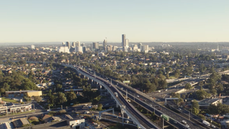 Parramatta is a major commercial hub for Western Sydney Parramatta Skyline aerial.png