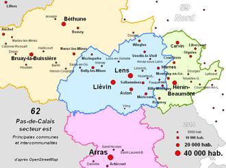 Carvin - East of Pas-de-Calais (Béthune, Lens, Hénin-Beaumont)