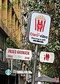 Paseo Ahumada sign, Santiago.jpg