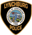 Patch of the Lynchburg Police Department.png