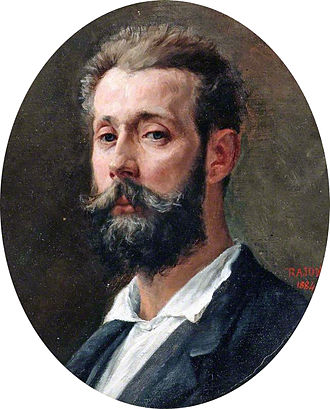 Paul Adolphe Rajon - Self-portrait (1884)